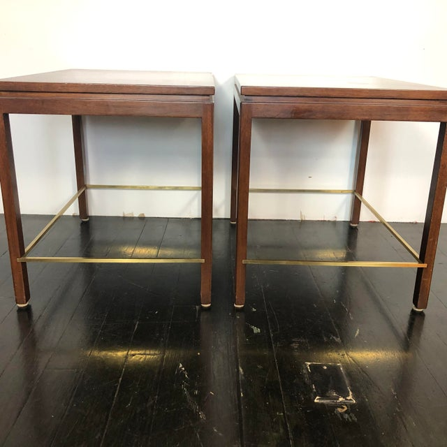 Edward Wormley Dunbar Side Tables - a Pair For Sale In San Antonio - Image 6 of 12