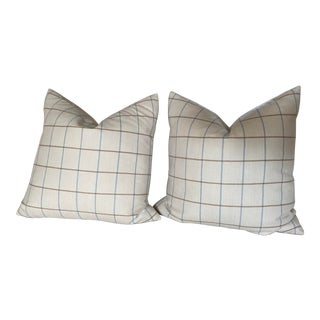 Holland & Sherry Pillows - a Pair For Sale