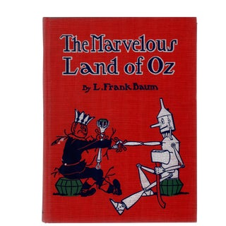 "1904 ""The Marvelous Land of Oz"" Collectible Book For Sale"