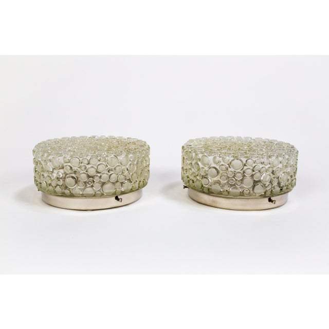 Helena Tynell Design Buffed Revisited Flush Mounts - a Pair For Sale - Image 9 of 11