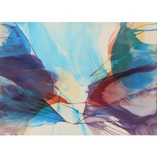 Paul Jenkins, Sanctuary, Abstract Expressionist Lithograph For Sale