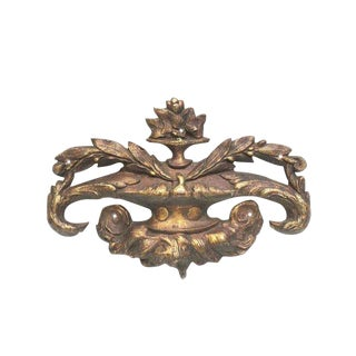 20th Century Traditional Bronze Applique For Sale