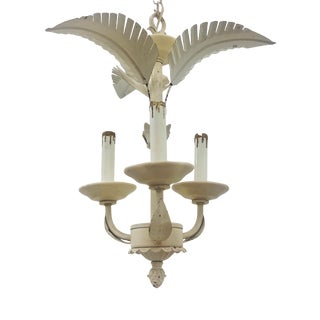 Palm Beach Chic Chandelier For Sale