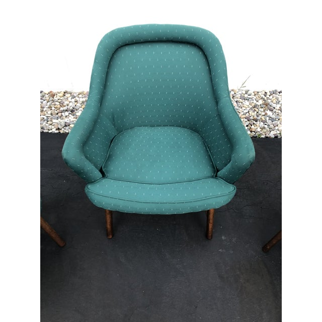 Mid-Century Modern Mid Century Pearsall Style Chairs- Set of 3 For Sale - Image 3 of 13