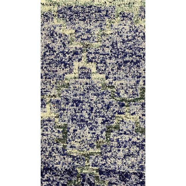"""Purple Transitional Style Area Rug 8'2""""×10'4"""" For Sale - Image 8 of 10"""