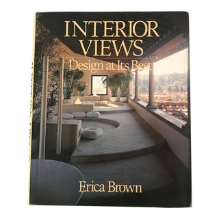 """Interior Views"" 1980 First Edition Design Book For Sale"