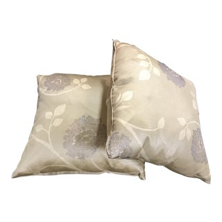 Olive Gold Accent Pillows - A Pair