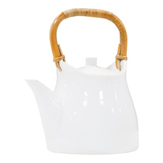 Sori Yanagi Porcelain Teapot For Sale