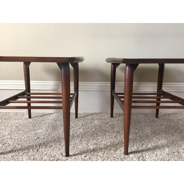 Bassett Side Tables - Pair - Image 10 of 11