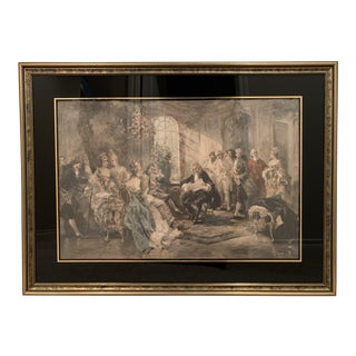 Vincente De Parades Framed Art - the Recital For Sale