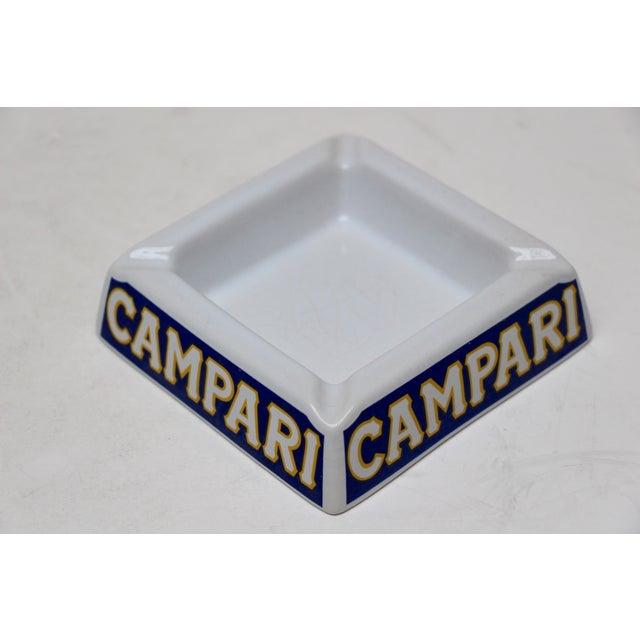Italian Porcelain Campari Ashtray - Image 2 of 7