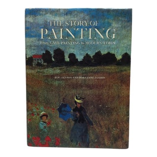 """1970 Coffee Table Display Book, """"The Story of Painting - From Cave Painting to Modern Times"""" by Janson For Sale"""