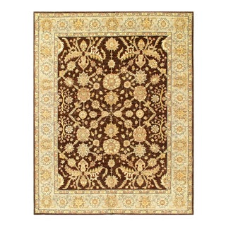 """Pasargad Pak Tabriz Hand-Knotted Rug-8'1"""" X 10'4"""" For Sale"""