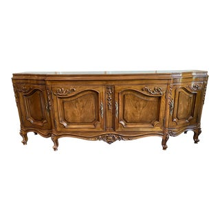 Karges Louis XV Circassian Walnut Buffet For Sale