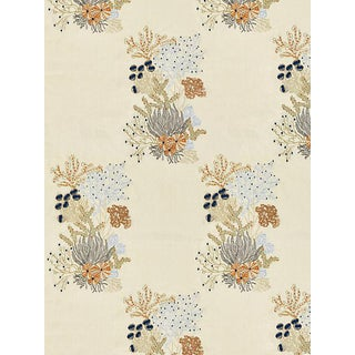 Scalamandre Combe Martin, Sand Fabric For Sale
