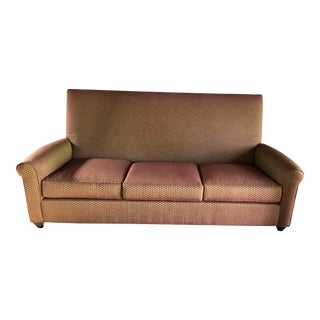 Modern Jack Lenor Larsen Fabric Donghia Sofa For Sale