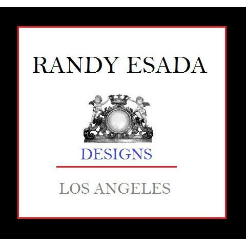 Hollywood Regency Regency Style Designer Taboret Bench by Randy Esada Designs For Sale - Image 3 of 4