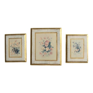Mid-Century B Riasni Print Art Wall Decor Set of 3 For Sale