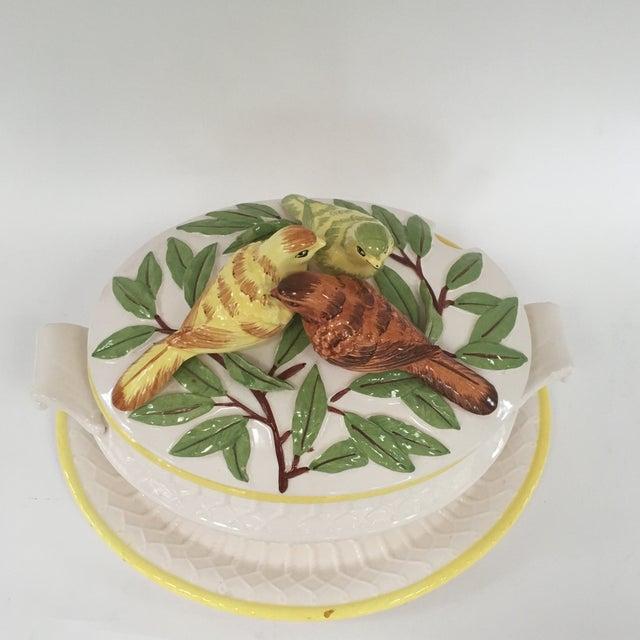 Art Nouveau Bird Soup Tureen For Sale - Image 3 of 9