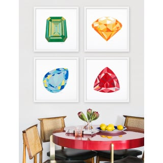 "Medium ""Gems, Set of 4"" Print by Rankin Willard, 40"" X 40"" Preview"