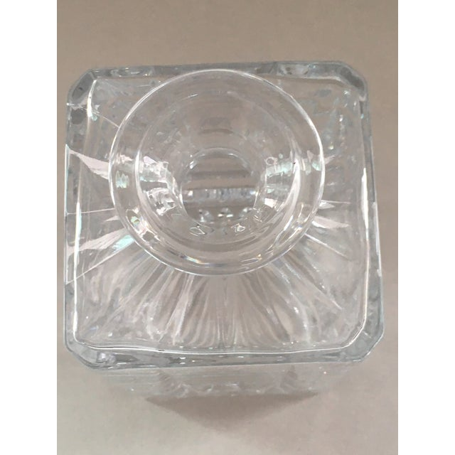 Towle Crystal Decanter For Sale In Providence - Image 6 of 7