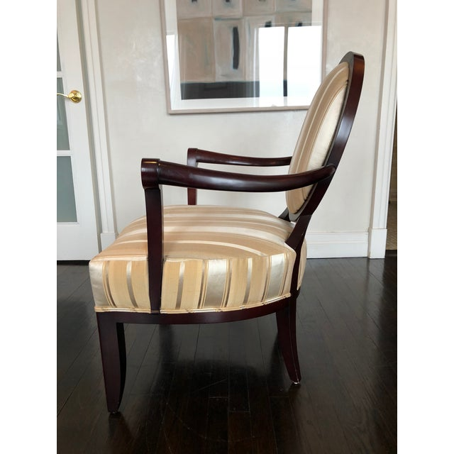 Barbara Barry Upholstered Cherrywood Dining Chairs - a ...