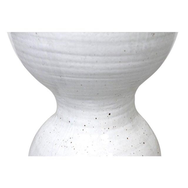 Ceramic Large Tariki Ceramic Stool For Sale - Image 7 of 12