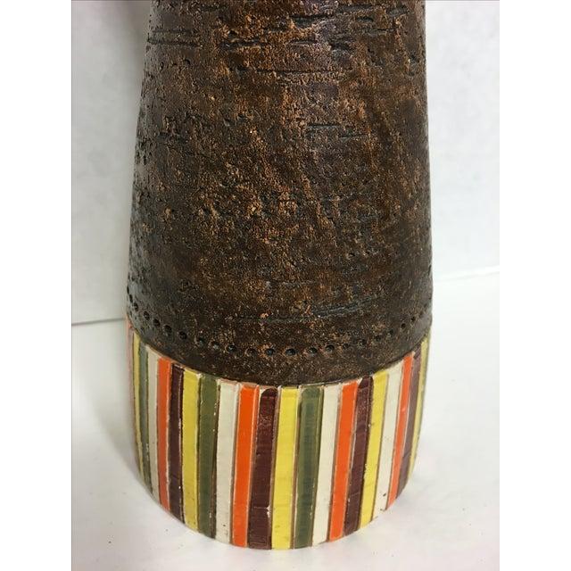Italian Mid-Century Bitossi Vase - Image 6 of 6