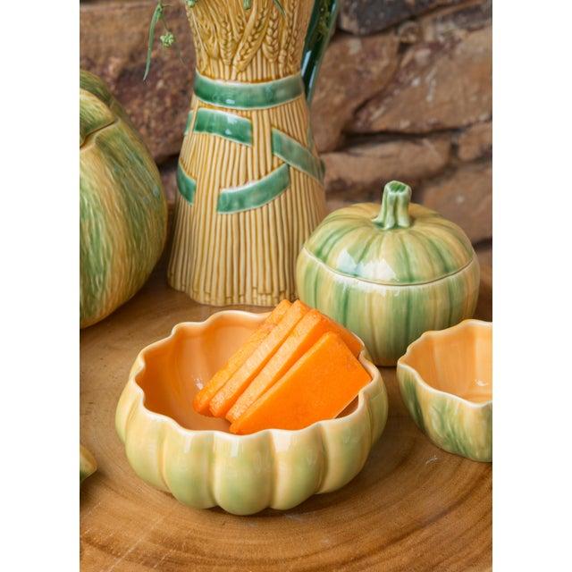 Traditional Bordallo Pinheiro Pumpkin Tureen - 25 oz For Sale - Image 3 of 4