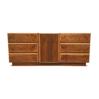 1960's Lane Modern 9 Drawer Dresser