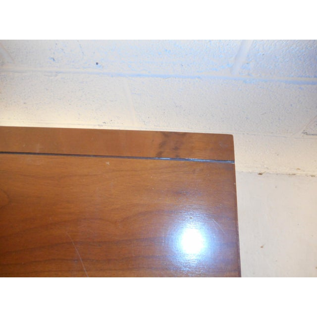 Mid-Century Modern Desk With Side Extension For Sale - Image 9 of 12