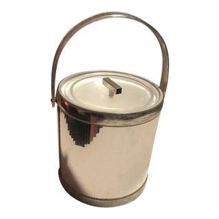 Vintage Mid Century Modern George's Briard Ice Bucket For Sale