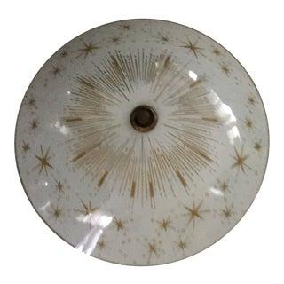Lightolier Style Atomic Ceiling Light For Sale