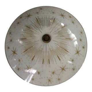 Mid Century Starburst Ceiling Light Last Call For Sale