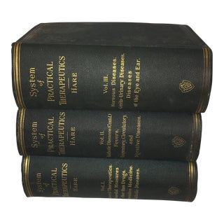 1891 & 1892 Medical Book Volumes - Set of 3