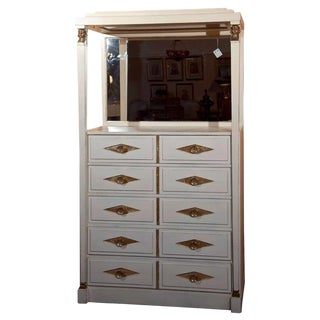 Grosfeld House French Empire Vanity Dresser For Sale