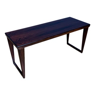 1960s Axel Kjersgaard Kai Kristiansen Rosewood Coffee Table For Sale