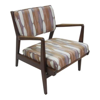 Jens Risom Lounge Chair For Sale