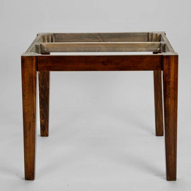 19th Century English Round Chestnut Farmhouse Dining Table - Image 3 of 9