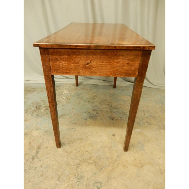 Elegant English Side Table For Sale - Image 4 of 7