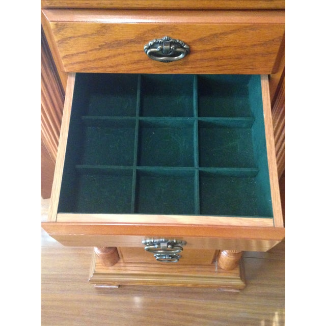 Emily Powell Wood Jewelry Cabinet - Image 7 of 8