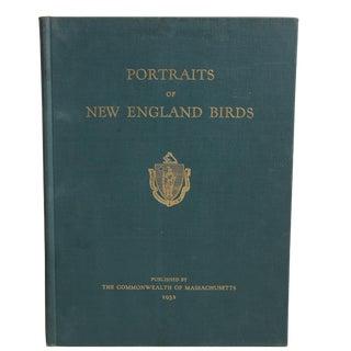 """Portraits of New England Birds"" Hardcover Book"