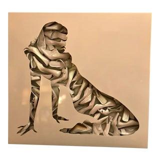 "Steven Gagnon Artwork, ""Composition in White"" For Sale"