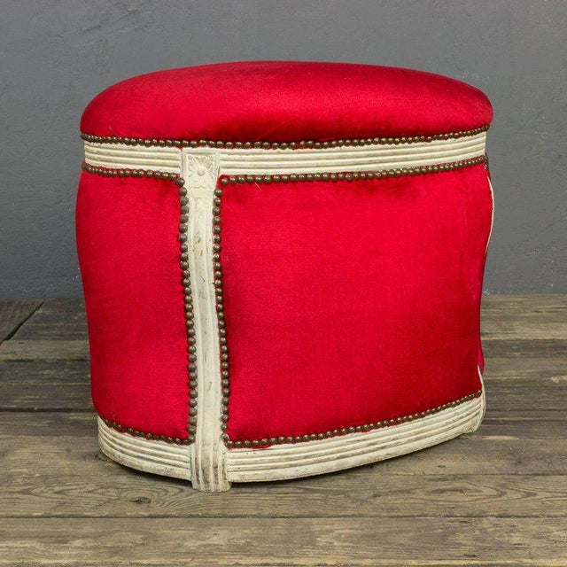 20th Century, French Footstool with Built in Dog Bed - Image 2 of 9