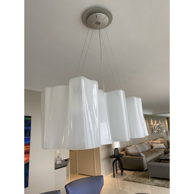 Michelle De Lucchi and Gerhard Reichert Logico Triple Linear 3-Light Suspension Light For Sale In Chicago - Image 6 of 9