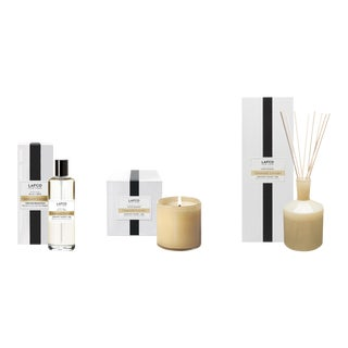 Chamomile Lavender Signature Candle, Classic Diffuser, and Room Mist Gift Set - Set of 3 For Sale