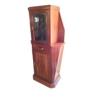 Vitrine Wooden Showcase For Sale