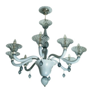 Venetian Eight Armed Chandelier For Sale