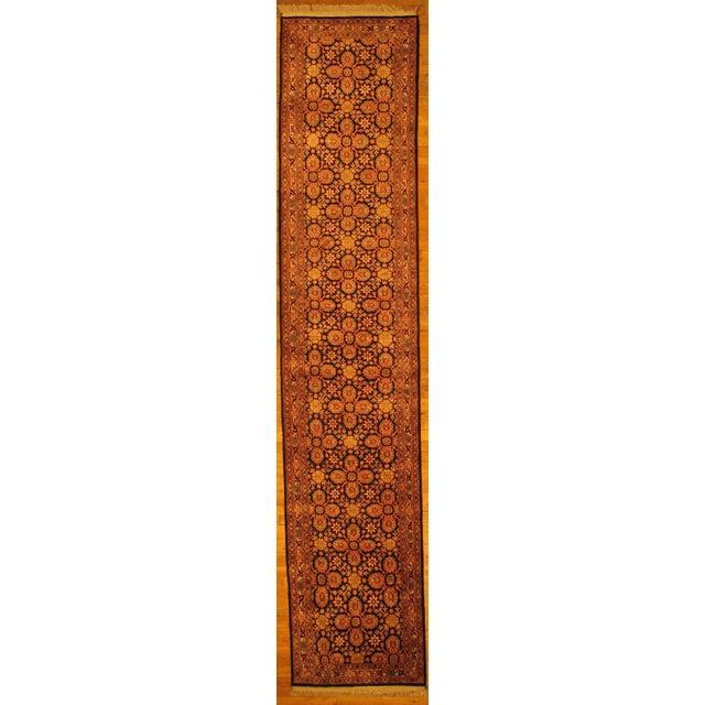 Pasargad Indo Tabriz Design Kashmir Art Silk Hand Knotted Rug 2 6 12 2 Chairish