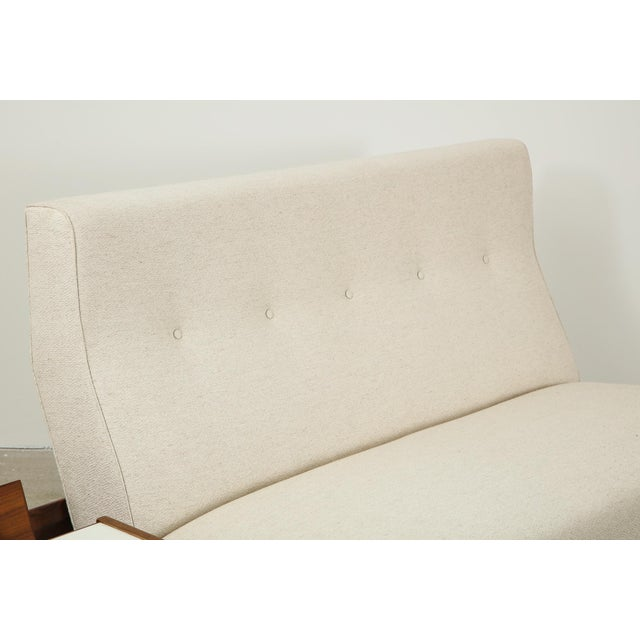 Jens Risom Sofa With Magazine Table For Sale - Image 11 of 13